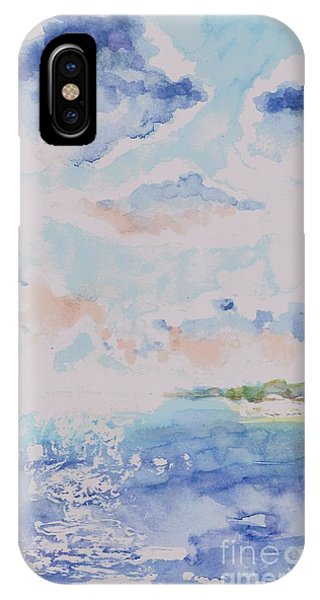 Emerging Sun 2 IPhone Case