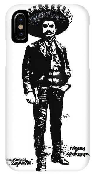 Emiliano Zapata IPhone Case