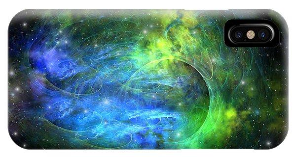 Endless iPhone Case - Emission Nebula by Corey Ford