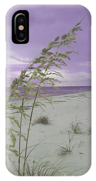 Emma Kate's Purple Beach IPhone Case