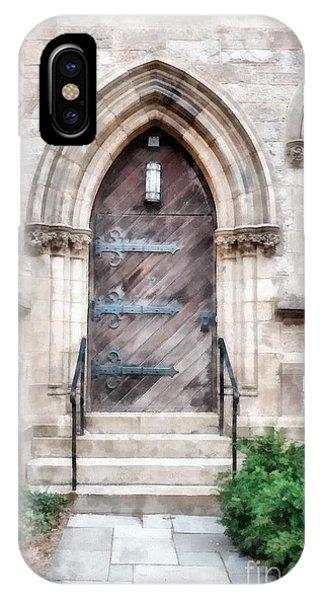 Emmanuel Church Newbury Street Boston Ma IPhone Case