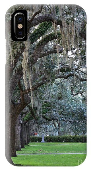 Emmet Park In Savannah IPhone Case