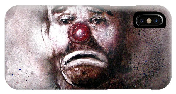 Emmit Kelly Clown IPhone Case