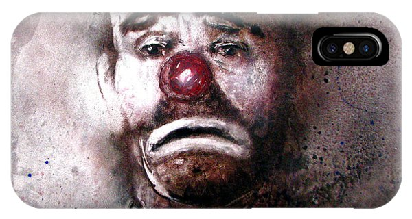 Emmit Kelly Clown IPhone Case