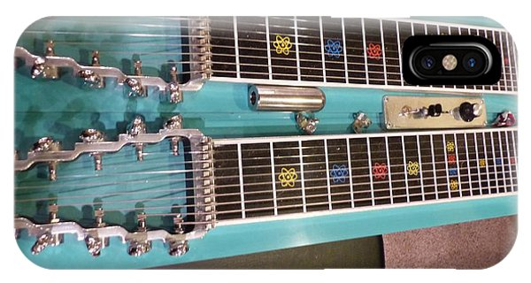 Emmons Lashley Legrande Pedal Steel Guitar IPhone Case