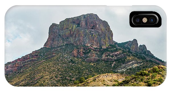 Emory Peak Chisos Mountains IPhone Case