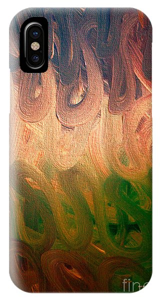 Emotion Acrylic Abstract IPhone Case