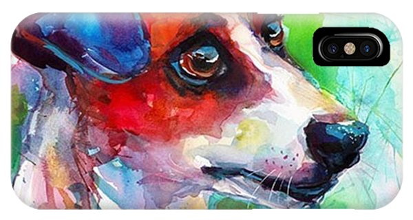 iPhone Case - Emotional Jack Russell Terrier by Svetlana Novikova
