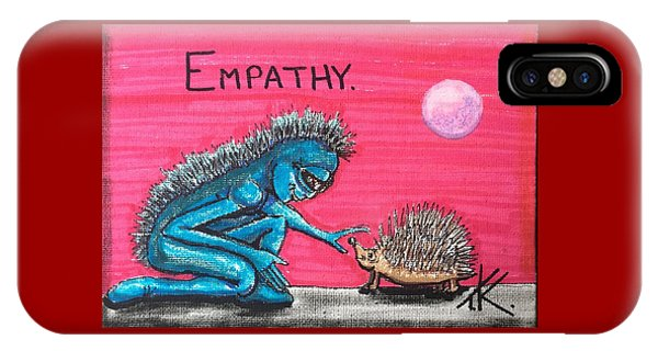 Empathetic Alien IPhone Case