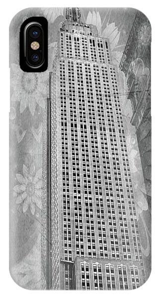 IPhone Case featuring the photograph Empire State Building by Angie Tirado