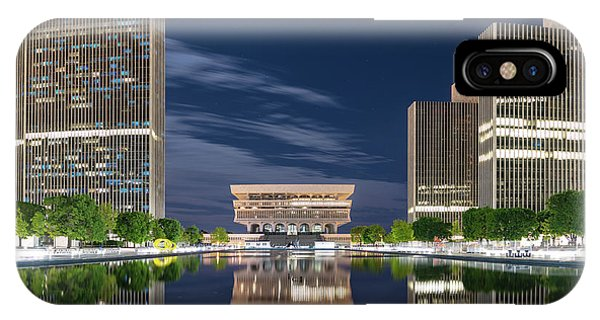 Empire State Plaza IPhone Case