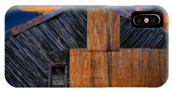 IPhone Case featuring the photograph Empty Barn by Harry Spitz