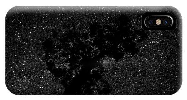 Empty Night Tree IPhone Case