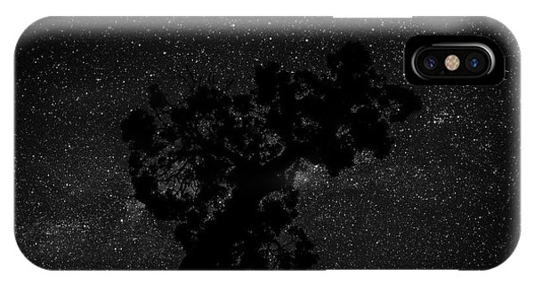 IPhone Case featuring the photograph Empty Night Tree by T Brian Jones
