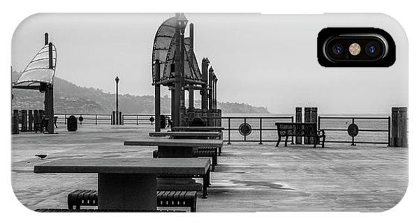 IPhone Case featuring the photograph Empty Pier by Michael Hope