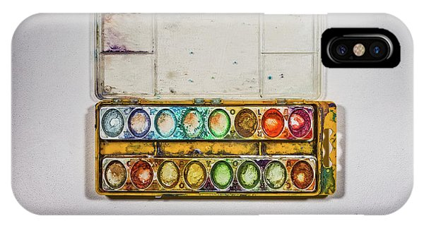 Empty Watercolor Paint Trays IPhone Case