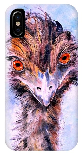 Emu Eyes IPhone Case