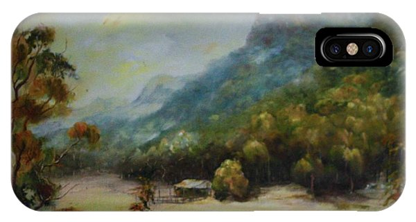 Emu Plains, Grampians IPhone Case
