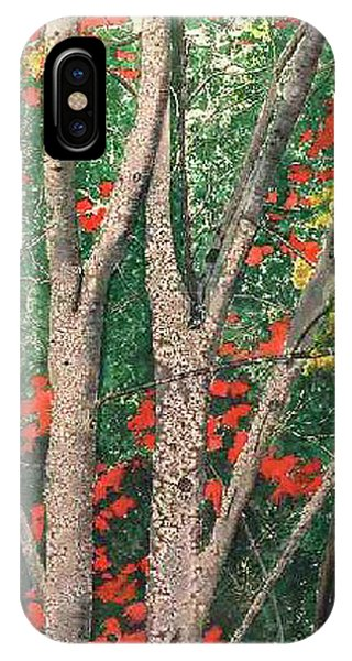 Enchanted Birches IPhone Case