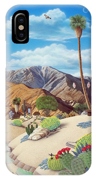 Desert iPhone Case - Enchanted Desert by Snake Jagger