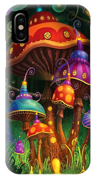 Alice In Wonderland iPhone Case - Enchanted Evening by Philip Straub