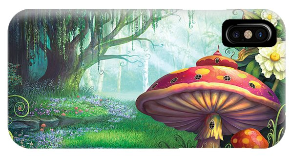 Alice In Wonderland iPhone Case - Enchanted Forest by Philip Straub