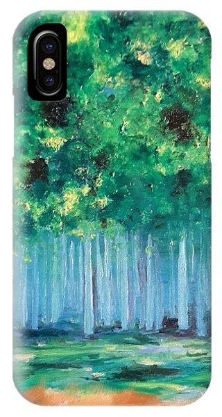 Enchanted Poplars IPhone Case