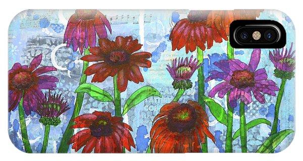 Enchanting Echinacea IPhone Case
