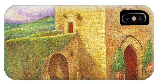 Enchanting Fairytale Chateau Landscape IPhone Case