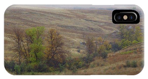 Enchantment Of The September Grasslands IPhone Case