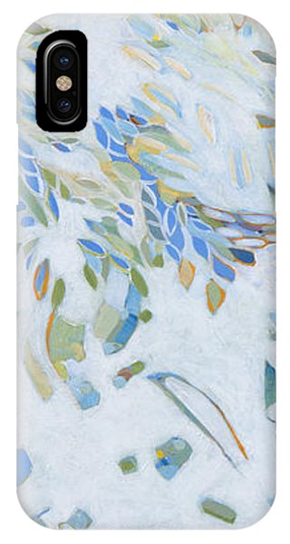 IPhone Case featuring the painting Encounter With An Angel by Linda Cull