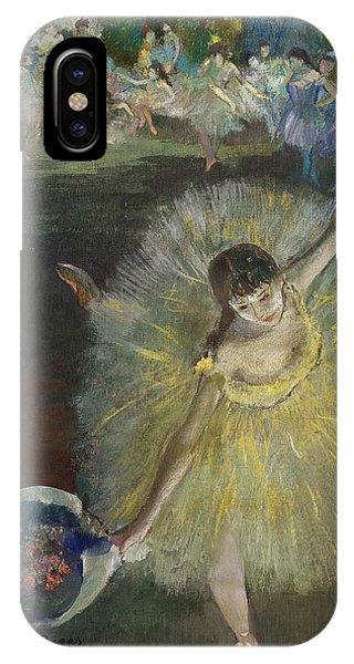1877 iPhone Case - End Of An Arabesque by Edgar Degas