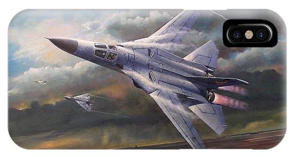 'end Of An Era' F111 Qld Final Flight IPhone Case