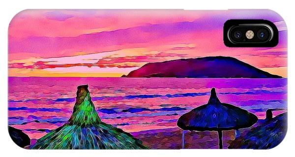 End Of The Beach Day In Mazatlan IPhone Case