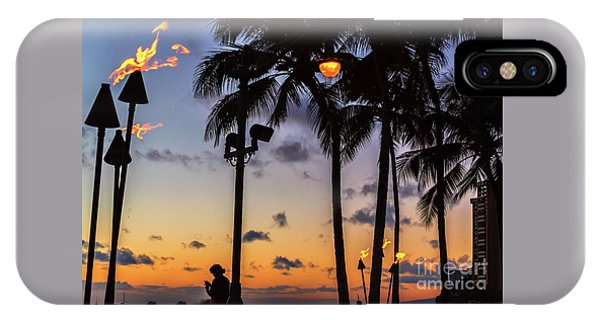 End Of The Beutiful Day.hawaii IPhone Case