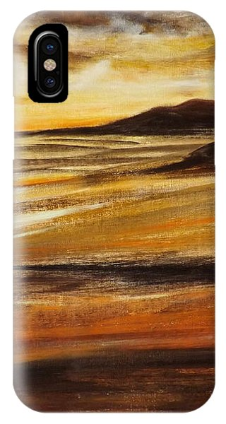 End Of The Day - Panoramic Sunset IPhone Case