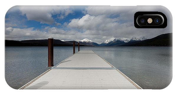 IPhone Case featuring the photograph End Of The Dock by Fran Riley