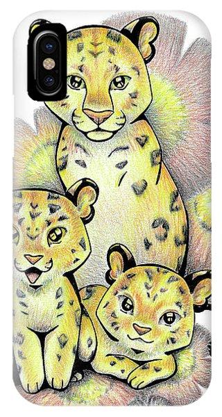 Endangered Animal Amur Leopard IPhone Case