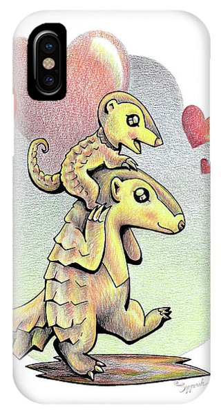 Endangered Animal Pangolin IPhone Case