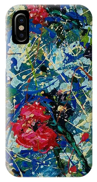 IPhone Case featuring the painting Endless Love 2 by Ray Khalife