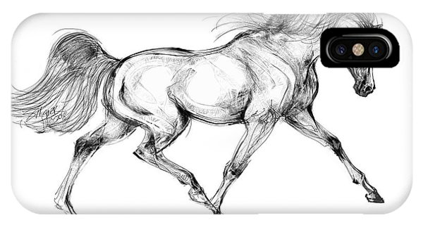 Endurance Horse IPhone Case