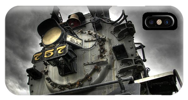 Train iPhone X Case - Engine 757 by Scott Wyatt