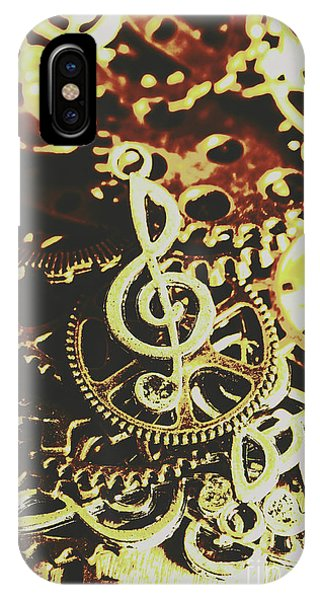 Punk Rock iPhone Case - Engineering The Music Industry by Jorgo Photography - Wall Art Gallery
