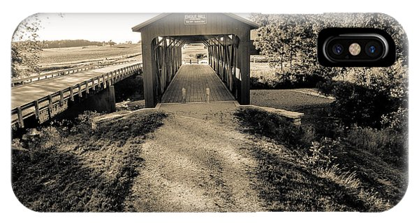 Engle Mill Covered Bridge IPhone Case