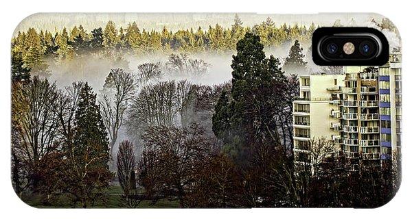 English Bay Fog IPhone Case