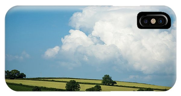 English Countryside iPhone Case - English Countryside In Summer by Jan Bickerton