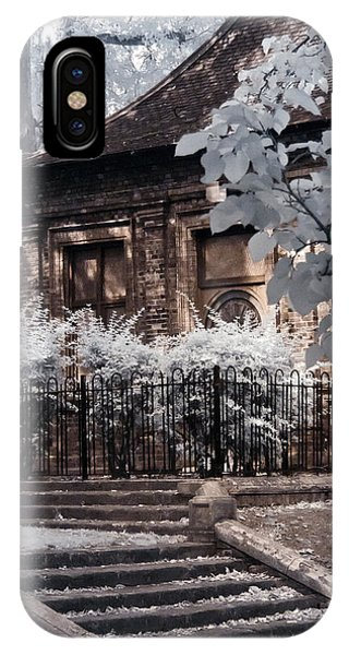 IPhone Case featuring the photograph English Garden House by Helga Novelli