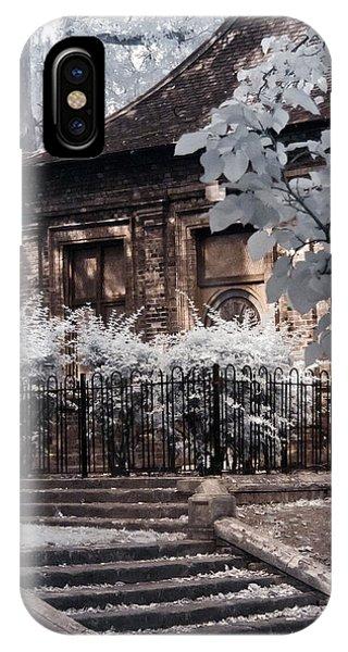 English Garden House IPhone Case