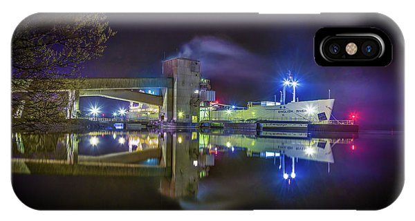 English River At Lafarge, Napanee IPhone Case