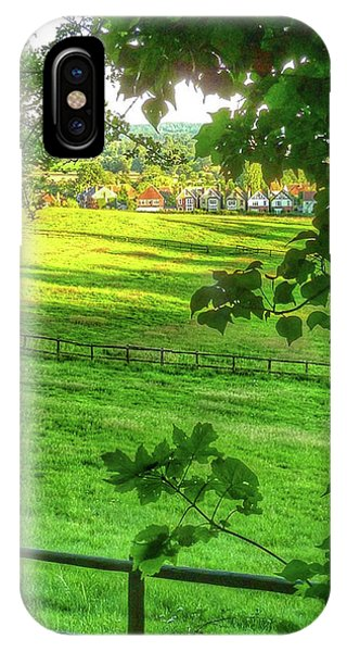 English Summer Contentment  IPhone Case